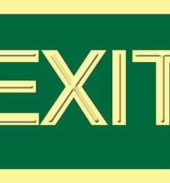 Exit accesible