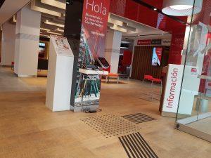 Podotactil Banco Santander