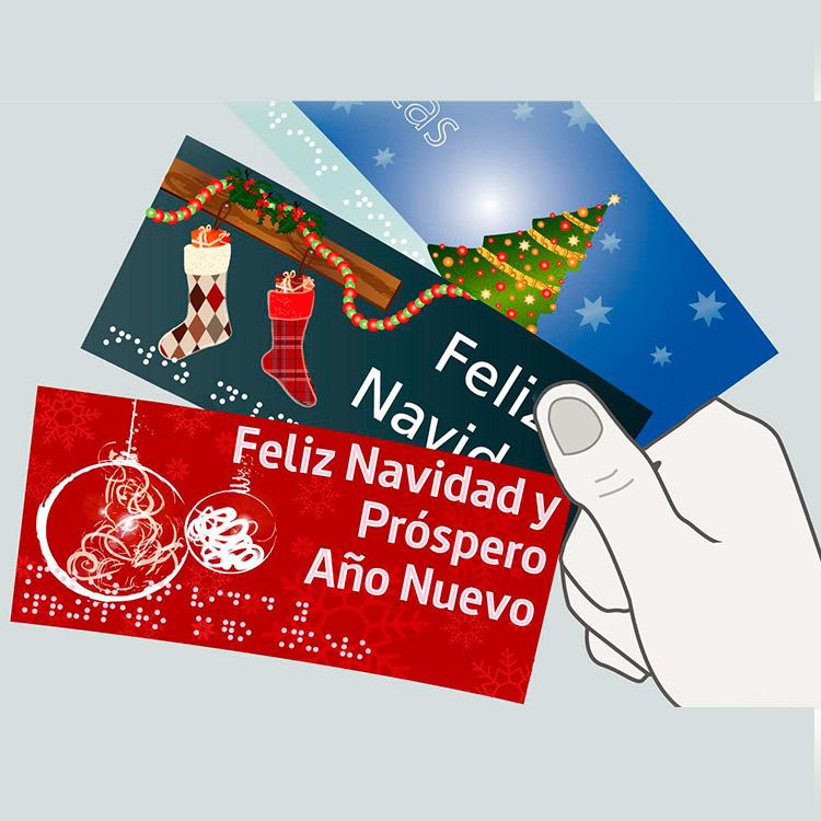 Pack de Felicitaciones Navideñas accesibles