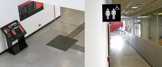 Universidad de la Salle accesibilidad