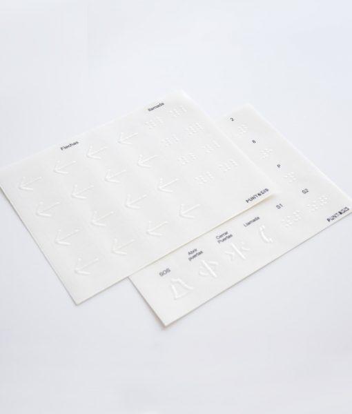 PACK ACCESIBILIDAD PARA ASCENSORES - Adhesivos sin tinta