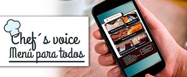 Chef´s Voice es Accesibilidad