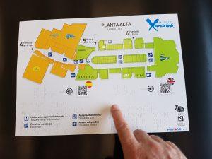 Planos de orientación accesibles