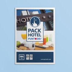 Pack Hotel - Anverso del sobre