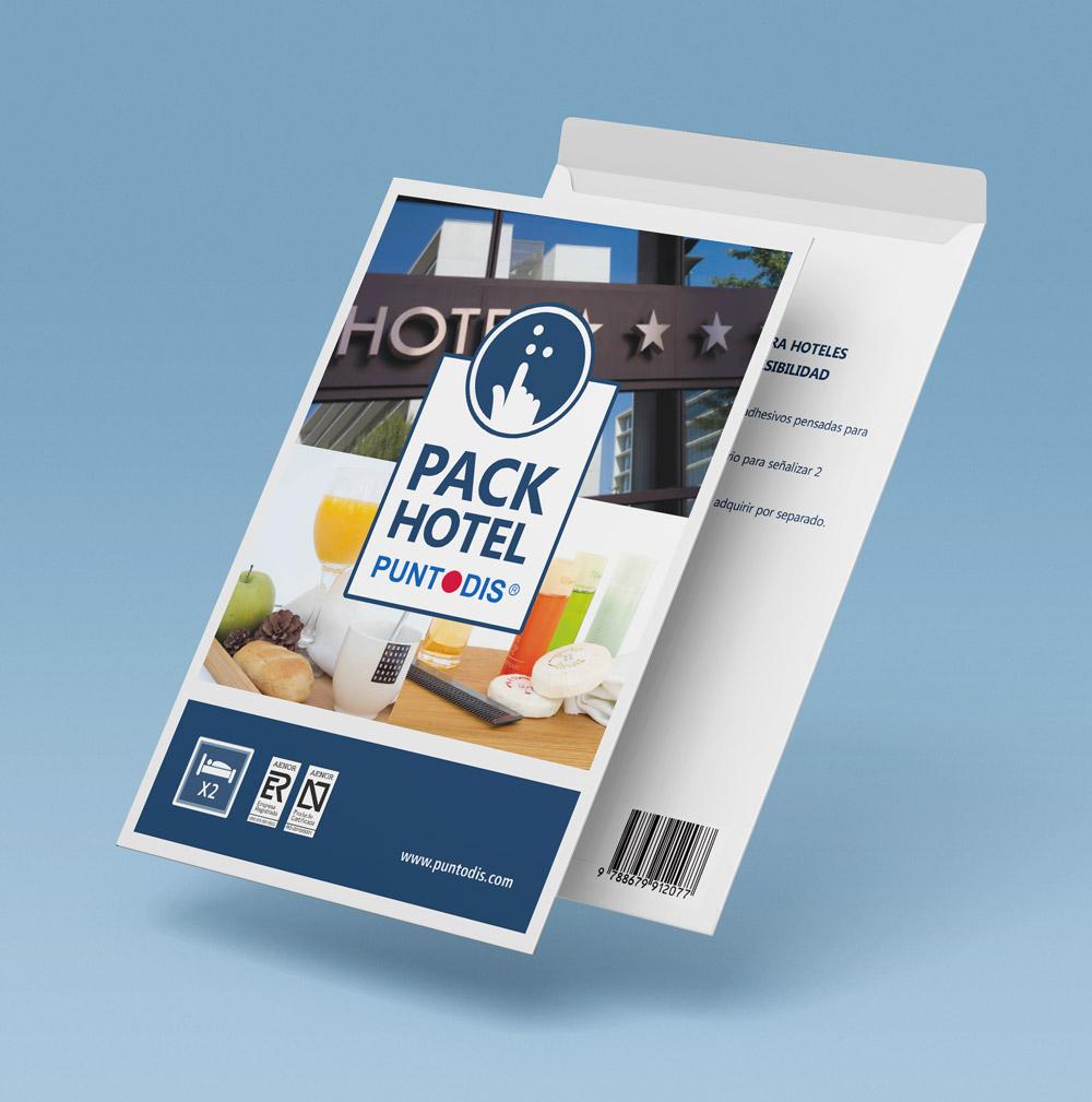 Pack vinilos en braille para hotel