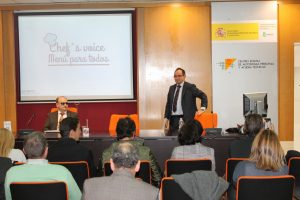 presentacion ChefsVoice en CEAPAT Madrid