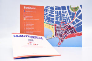 plano Benidorm con Map´s Voice