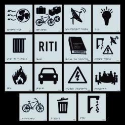 Pictogramas Edificación Zonas Comunes