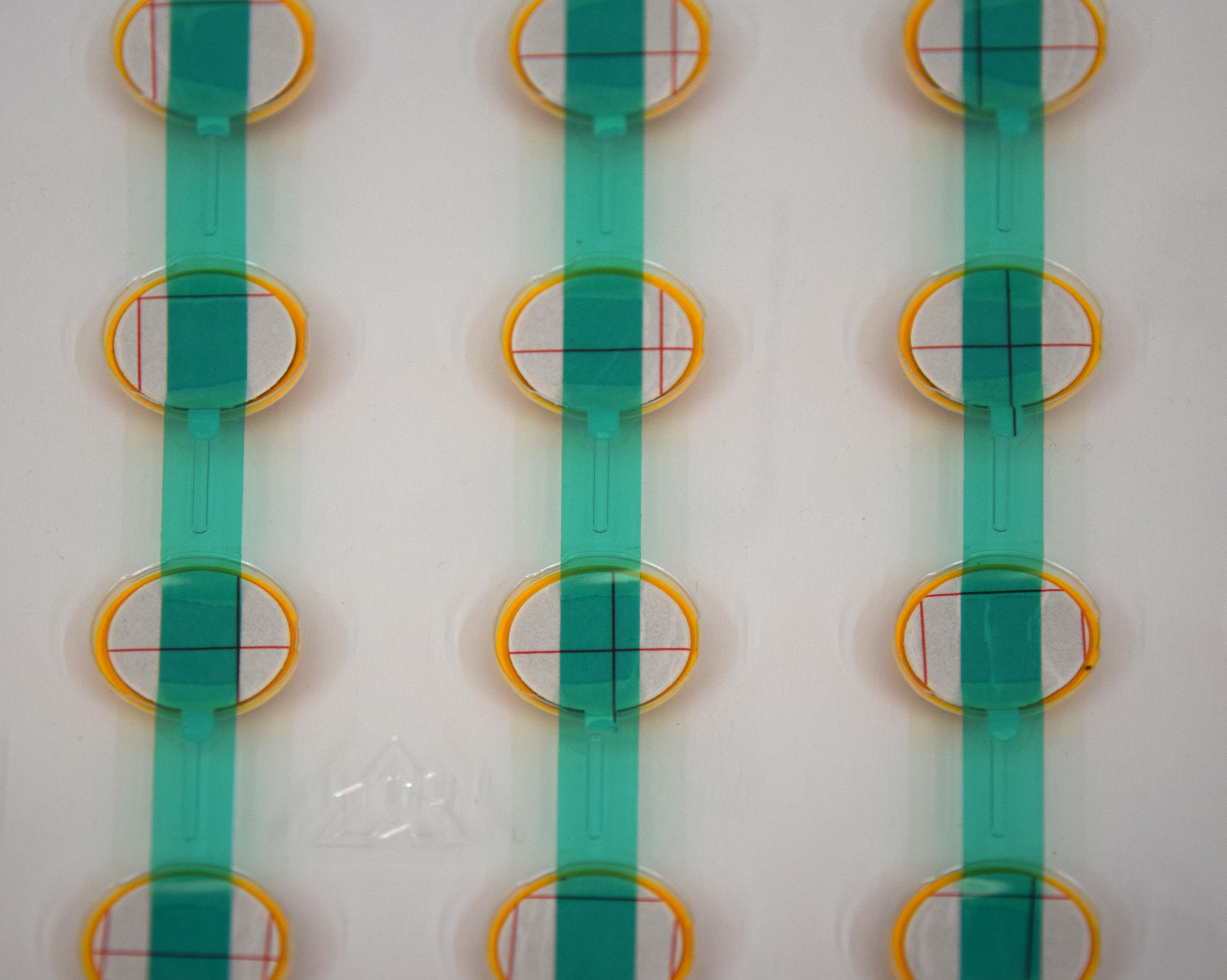 kit plantilla 36 botones amarillos para composición de cruces y avisos