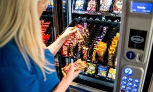 Máquina de vending.