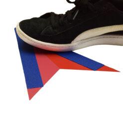 Vinilo para suelo con cinta - Flechas direccionales