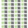 vinilos adhesivos con QR en altorrelieve
