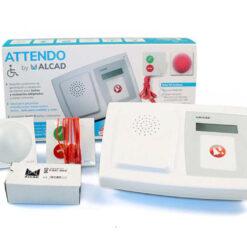 receptor alarmas baño adaptado
