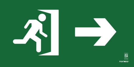 salida derecha