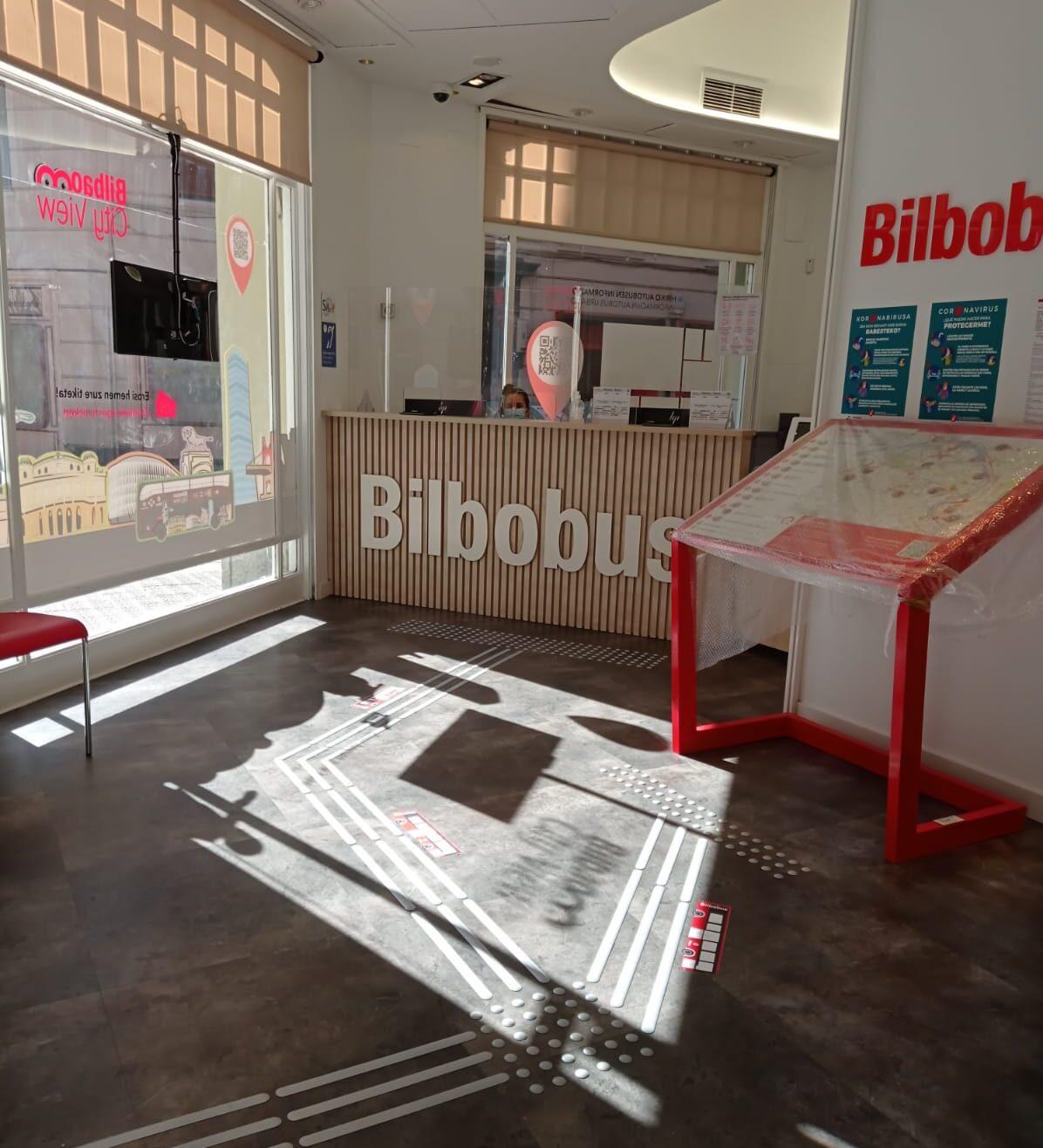 Interior oficina Bilbobus