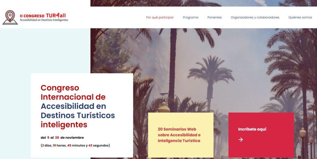 Web del Congreso TUR4ALL