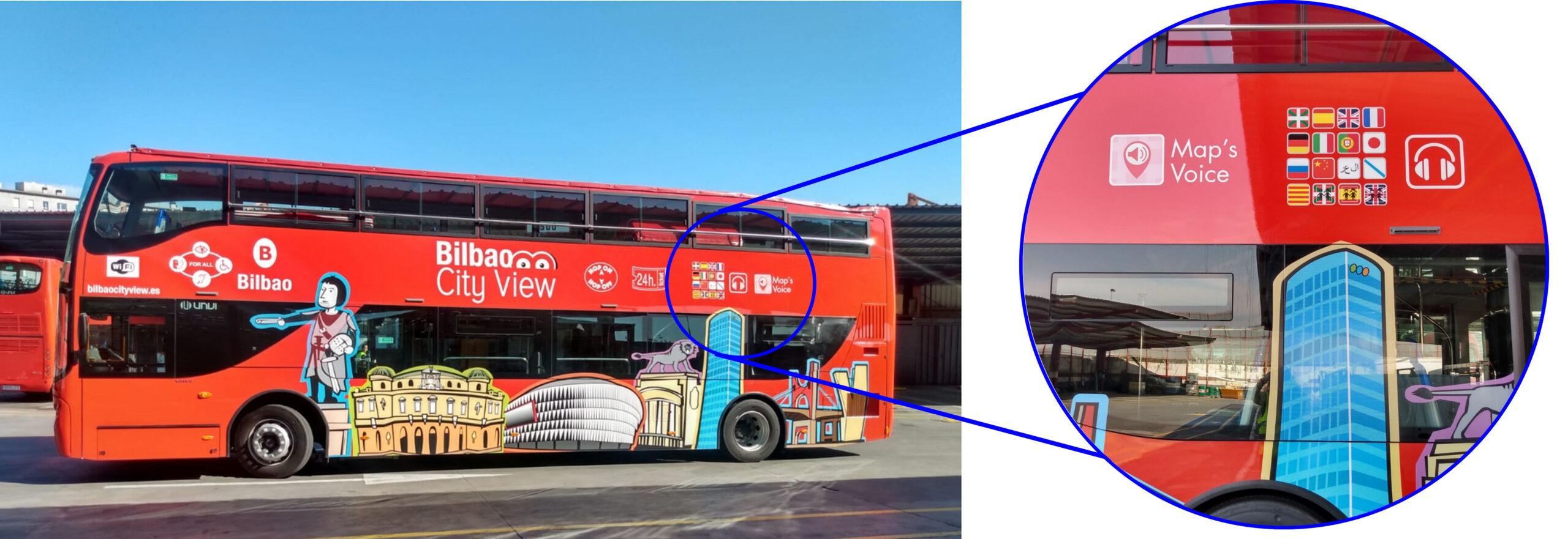 Autobús turístico para destinos turísticos inteligentes