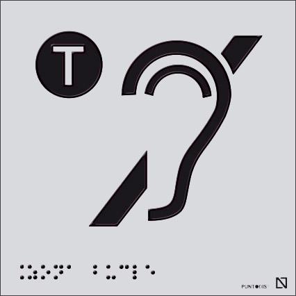 Placa Bucle magnético en braille