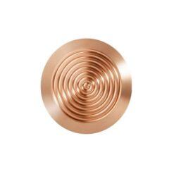 botones de bronce para avisos podotáctiles