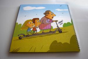 Cuentos infantiles braille y altorrelieve