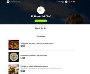 Chef's Voice