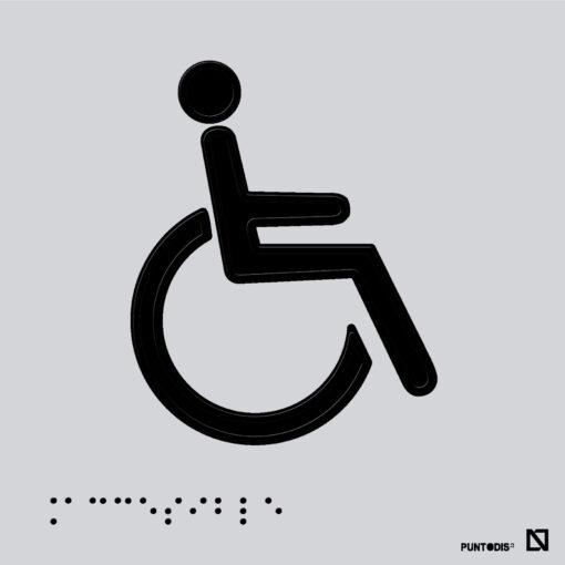 Placa SIA braille