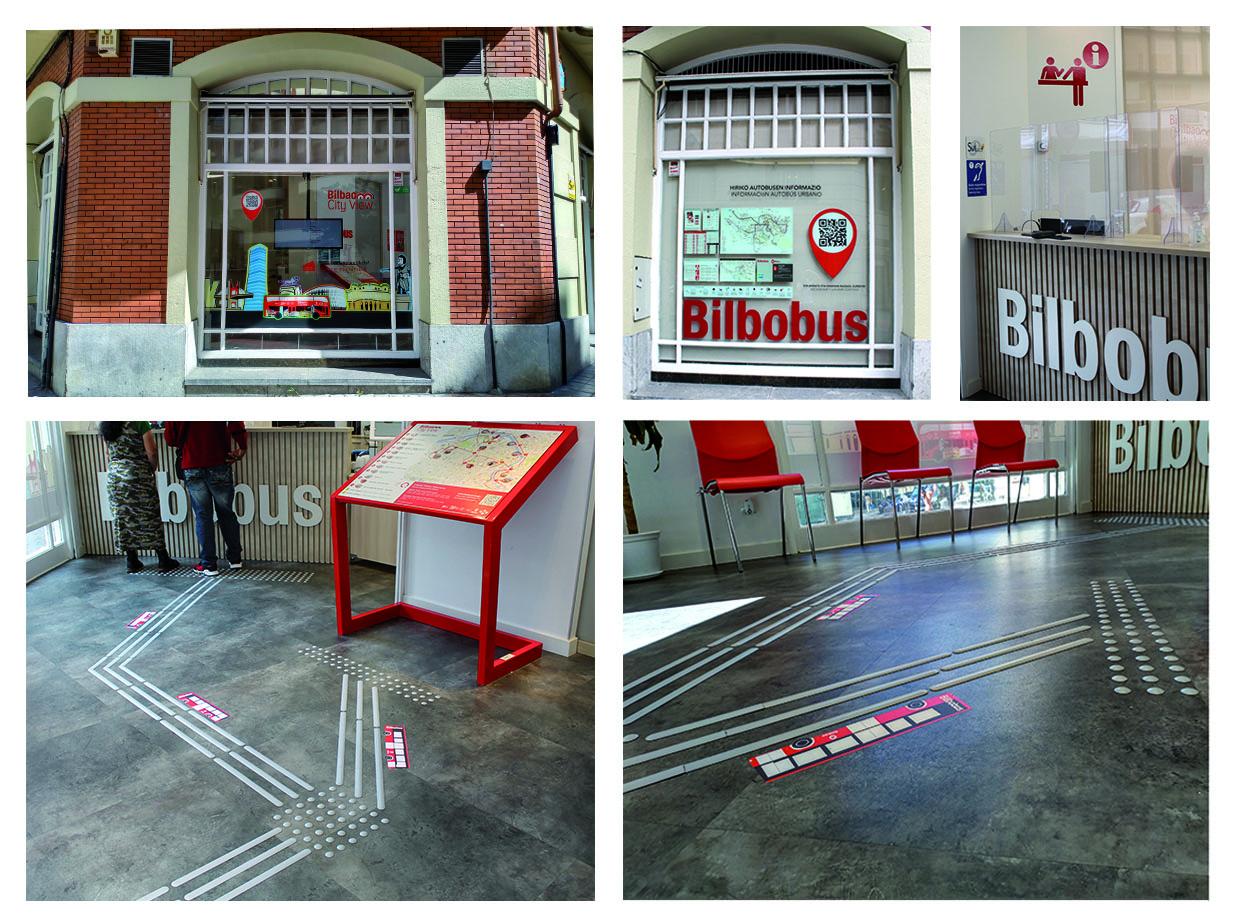 accesibilidad en Bilbobus