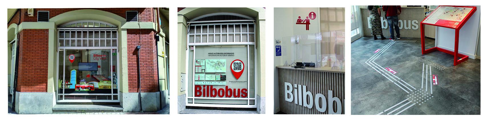accesibilidad en la oficina de Bilbobus